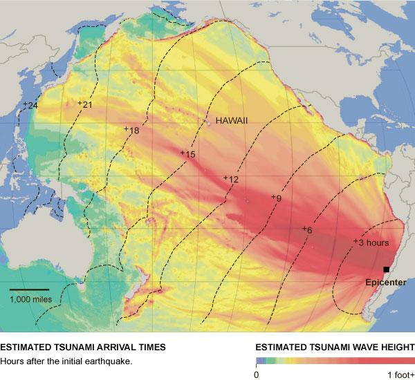 1960 Chile Earthquake Map.Haiti Vs Chile Extreme Events Institute Eei Florida