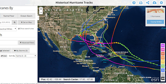 Historical-Hurricane-Tracks-–-NOAA-Digital-Coast