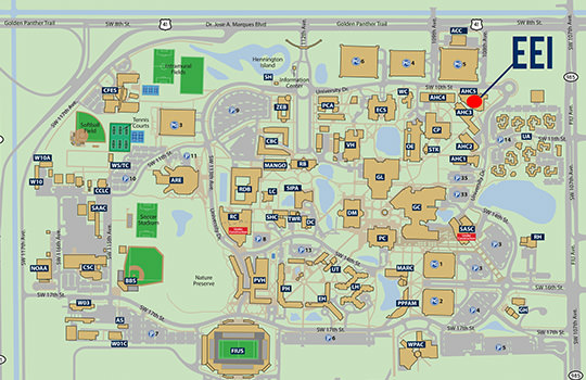 FIU Campus Map