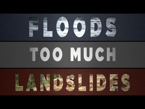 (FLOOD) Too Much, Too Little (Floods and Droughts) – NASA
