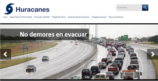 spanish-hurricane-website-screenshot